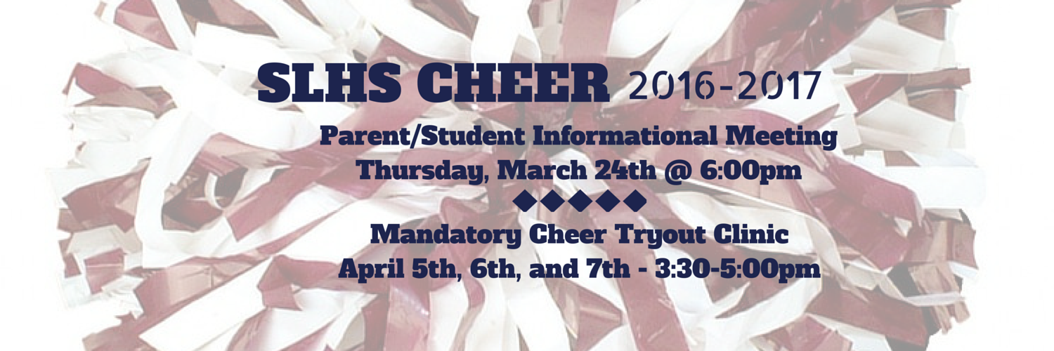 2016-2017 Cheer Try-outs!