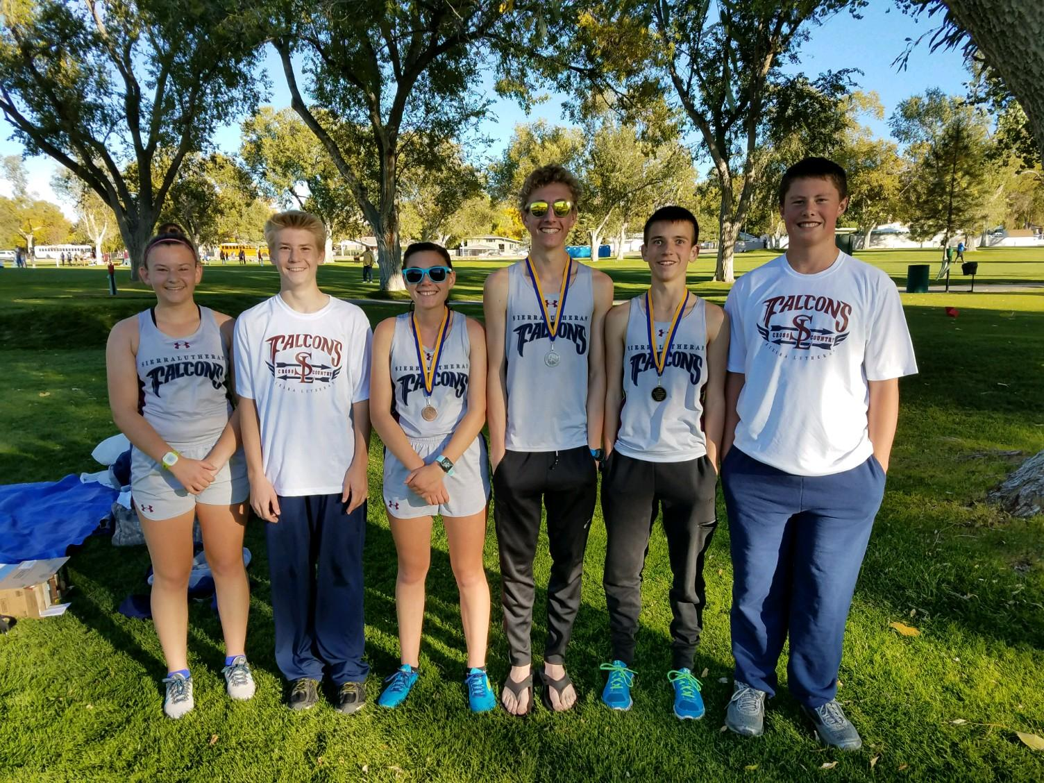 SLHS XC Medals in Winnemucca